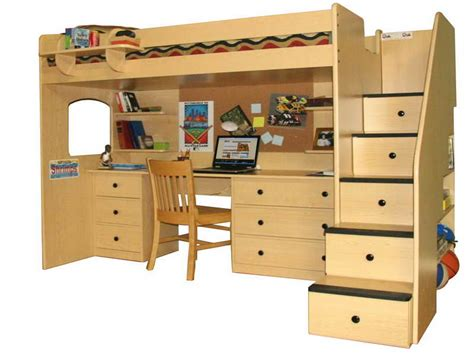 build your own bunk bed with desk 187 woodworktips