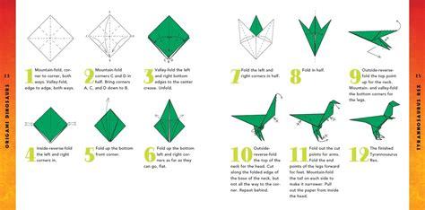 origami easy dinosaur easy origami dinosaur comot