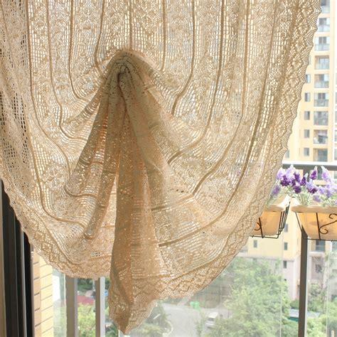 vintage style kitchen curtains vintage style crochet curtains cotton handmade