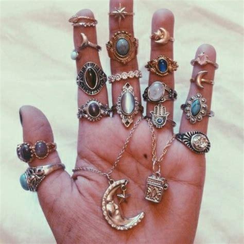 how to make boho jewelry jewels ring moon jewelry statement ring boho
