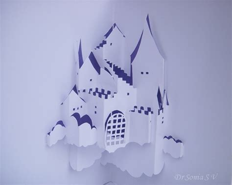 origami c cards crafts projects origamic architecture