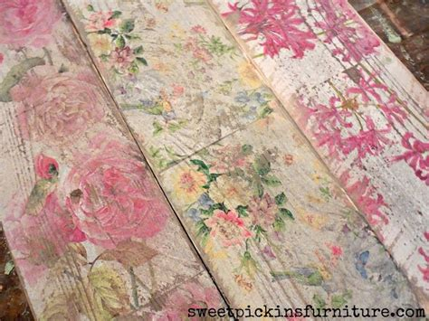 napkin decoupage on wood 25 best ideas about decoupage furniture on