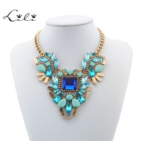 make fashion jewelry 2015 new necklace design fashion chunky necklace choker
