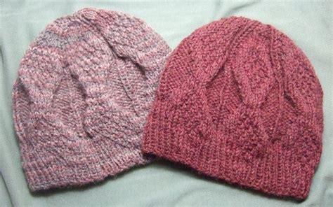 free hat knitting patterns needles knitting patterns galore mock aran mens hat