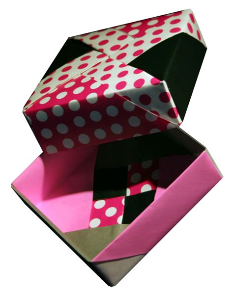 collapsible origami box origami square box folding