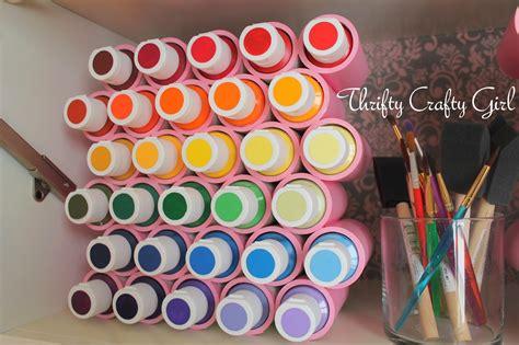 acrylic paint storage ideas craft paint storage ideas sugar bee crafts
