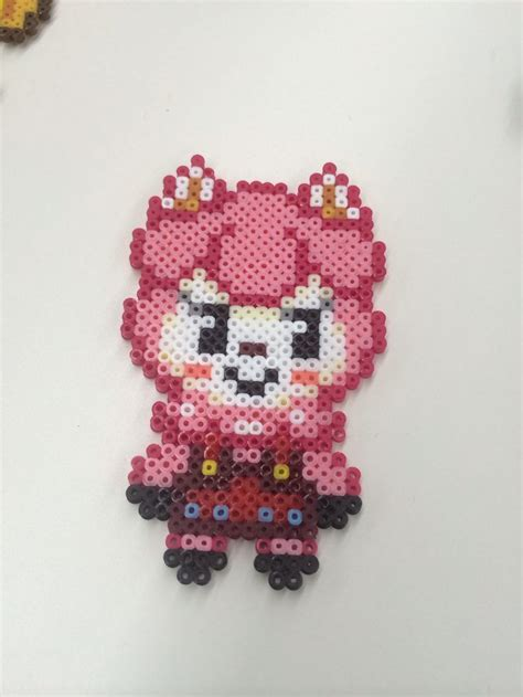 perler animals animal crossing new leaf perler