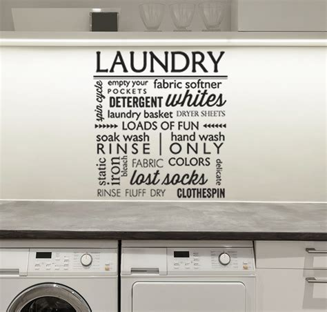 laundry room wall stickers laundry room wall stickers home design