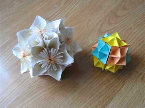 origami work some origami work kusudama spike paper cranes