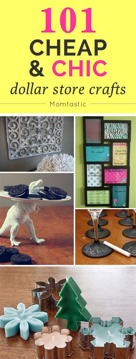 dollar store craft projects 101 cheap chic dollar store crafts crafts and