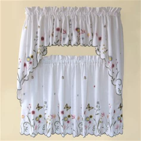 butterfly kitchen curtains buy butterfly kitchen curtains from bed bath beyond