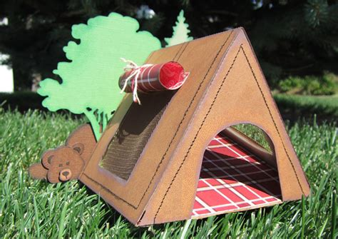tent craft for cing tent pazzles craft room