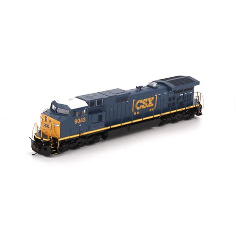 Directional Mirrors by Ho Rtr C44 9w Csx Boxcar Logo 9043 Ath29241 Athearn