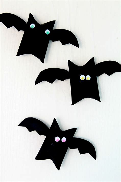 bat craft for bat toilet paper roll craft for