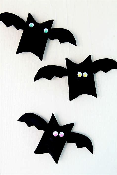 bat crafts for bat toilet paper roll craft for