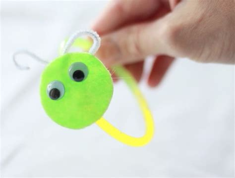 pbs crafts glow worm bracelets crafts for pbs parents