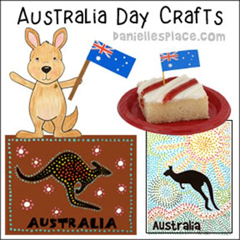 australia day craft crafts for from danielle s place of crafts and activities