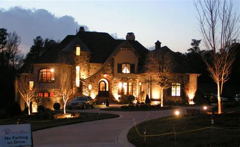 outdoor lights house creekside gardens landscaping installation outdoor