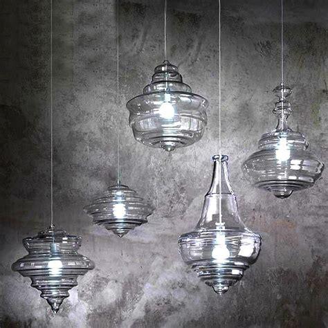 blown glass pendant lighting modern blown glass pendant lighting in chrome finish
