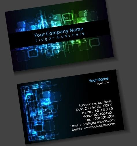 digital card free digital business card design vector titanui