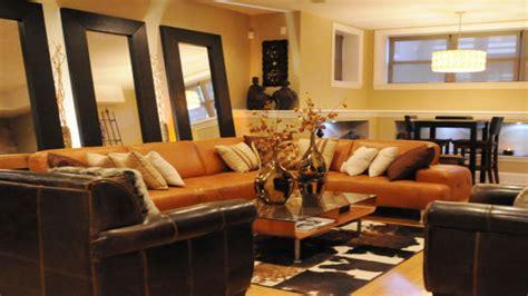 orange and brown navy living room furniture orange and brown living room