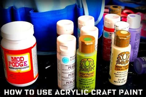do i need to seal acrylic paint on canvas 8 tips for how to use acrylic paint mod podge rocks