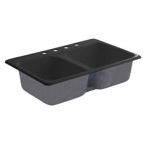 american standard cast iron kitchen sinks american standard drop in cast iron 33x22x8 8 4