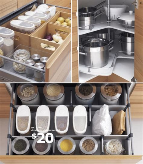 kitchen organization ikea clever kitchen organizers at ikea at home with vallee