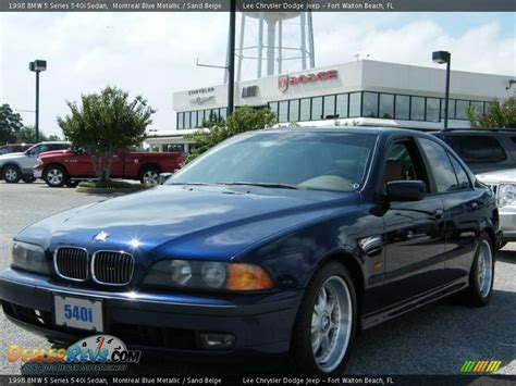 1998 Bmw 540i by 1998 Bmw 5 Series 540i Sedan Montreal Blue Metallic Sand