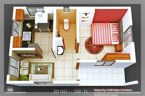 House Plan 3d 3d isometric views of small house plans a taste in heaven