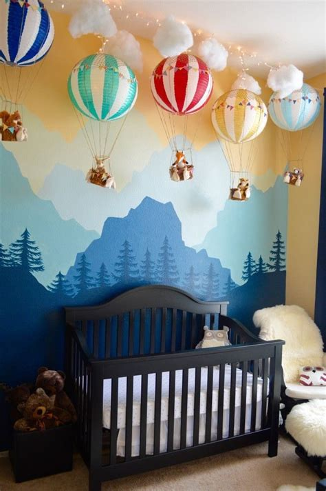 hanging ceiling decorations for nursery baby nursery decor whimsical baby decor for nursery