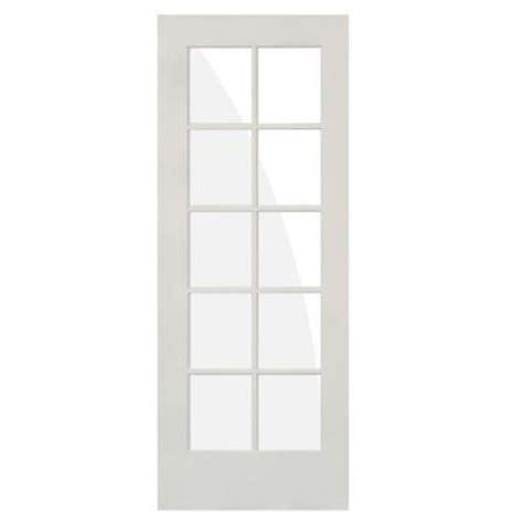 30 x 80 interior door krosswood doors 30 in x 80 in 10 lite solid mdf