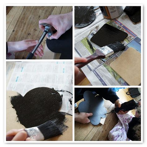 diy chalk paint crafts easy diy chalkboard paint ideas planning with