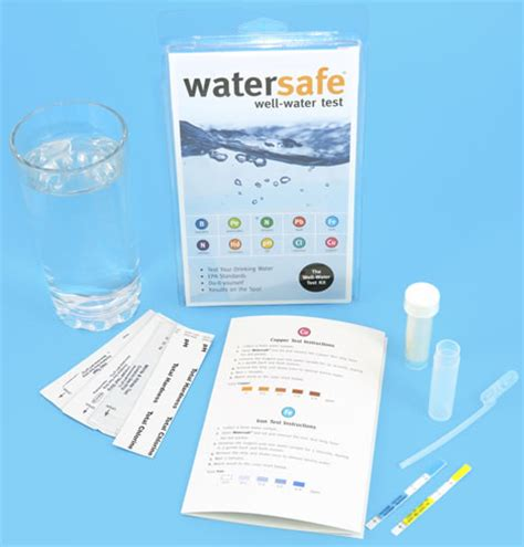 are water safe watersafe well water test kit 10 in one ws 425w 163 24 99
