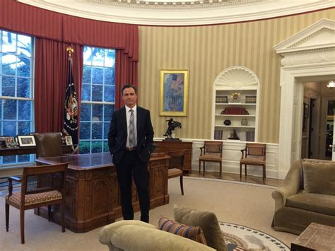 president from inside oval office