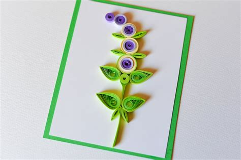 steps to make greeting cards how to make greeting card quilling flower step by step