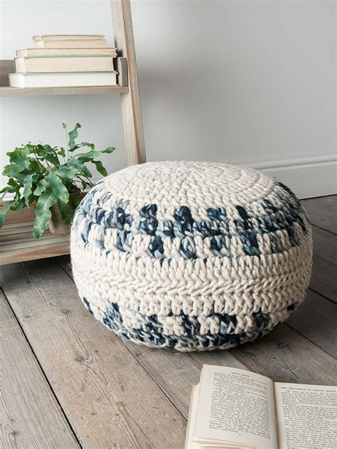 knitted poufs uk 17 best ideas about knitted pouf on floor pouf