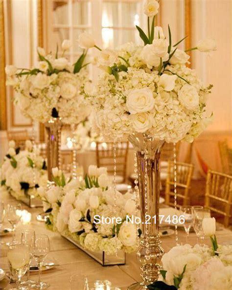 buy wedding centerpieces popular gold centerpiece vases buy cheap gold centerpiece