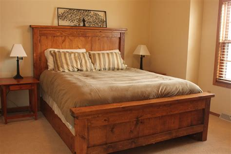 how to build bedroom furniture white our farmhouse bed diy projects