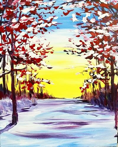 family paint nite island paint nite early snow ii