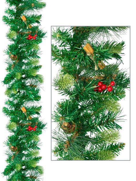 needle pine garland three needle pine garland 1 8m garlands wreaths