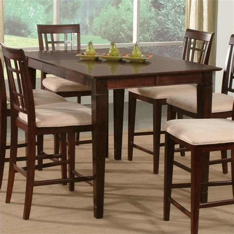 Pub Dining Table Atlantic Furniture Deco Counter Height Pub Dining Table In