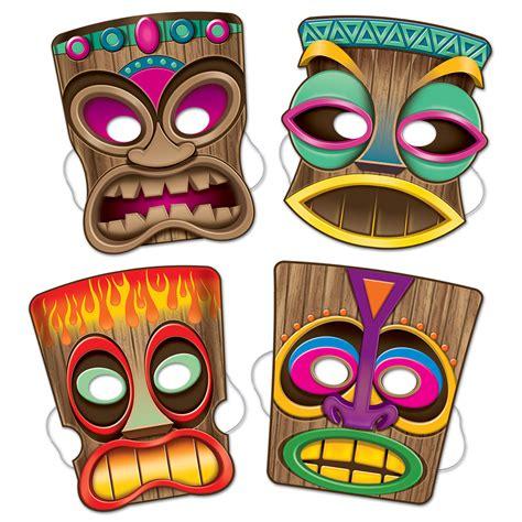 4 masques tiki deguise toi achat de masques
