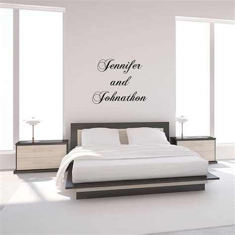 personalised wall sticker quotes personalised quote typographical wall sticker by oakdene