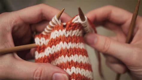 how to undo knitting rows knitting 2 row jogless stripes in the