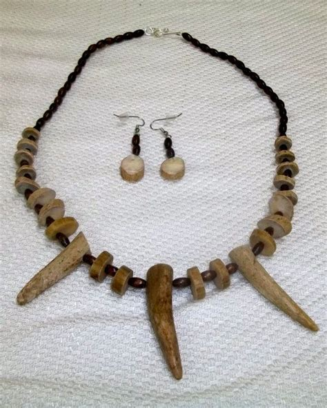 how to make antler jewelry naturally shed antler necklace earrings
