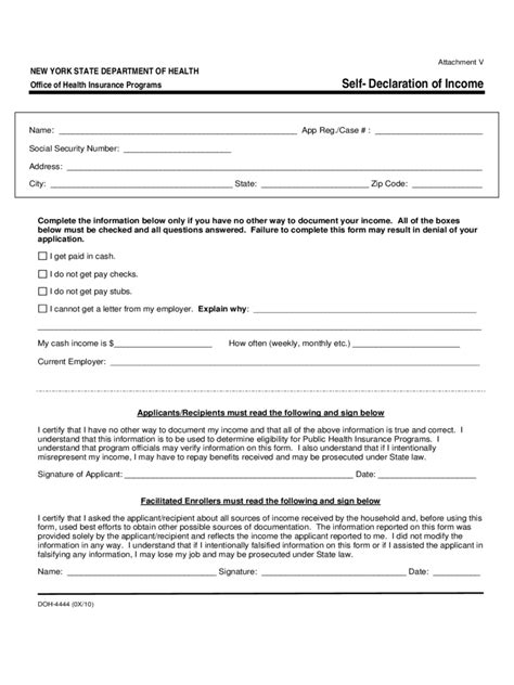 declaration form 56 free templates in pdf word excel