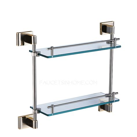 small glass bathroom shelves 100 glass bathroom shelves wall shelves design top