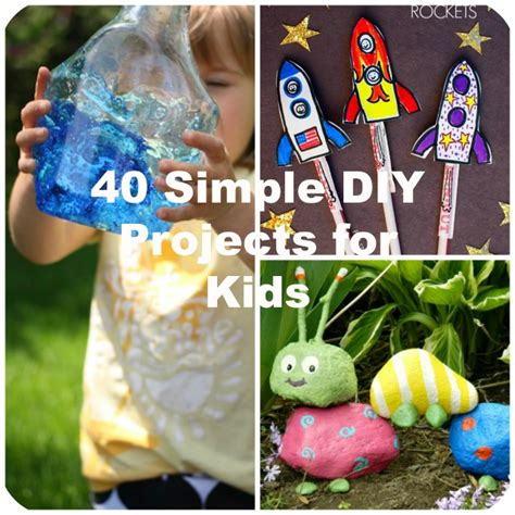 projects crafts 40 simple diy projects for to make