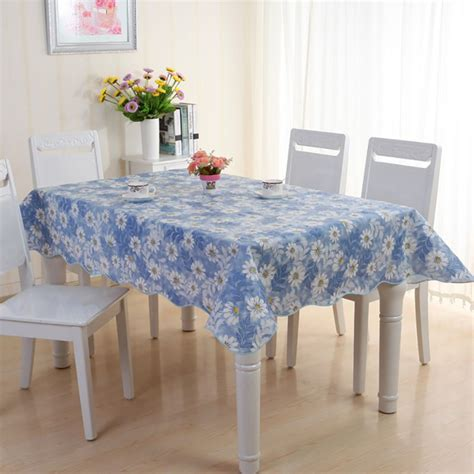 Dining Room Tablecloth table cover protector wipe clean peva tablecloth dining